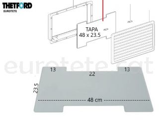 Tapa-Thetford-63115080-N3141-N3142-hivern-257-432-nevera-SR-vent-cover autocaravana-nevera-recanvi-1