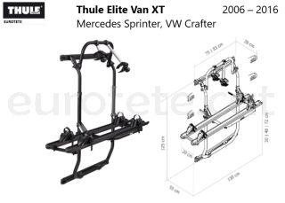 Thule-Elite-Van-XT-Mercedes-Sprinter-VW-Crafter-  2006 –2016-furgoneta-camper