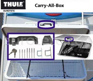 Thule Carry All Box / TB Combi recambio maneta y llave para el baul portaequipajes 1