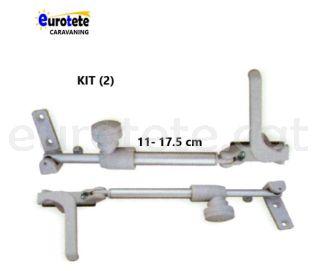 Compas 11 - 17.5 cm kit dreta + esquerra gris finestra Plastoform 1