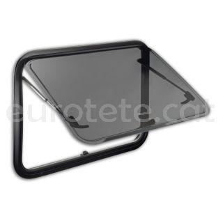 Finestra 750 x 465 Dometic S7P abatible amb marc alumini camper 1