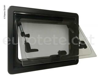 Finestra 900 x 450 Carbest Elegance kit + enfosquidor + mosquitera 1