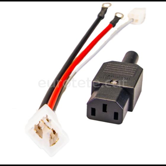 Nordelettronica adaptador per al carregador de bateria NE287 - NE143 autocaravana 1