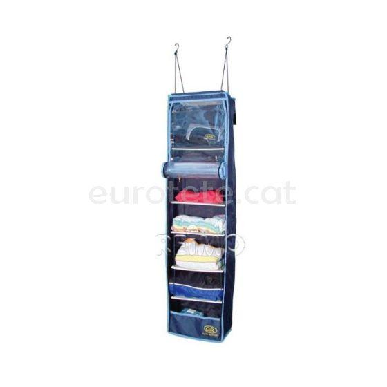 Organizador 130 x 32 cm para armario ropa de caravana o autocaravana