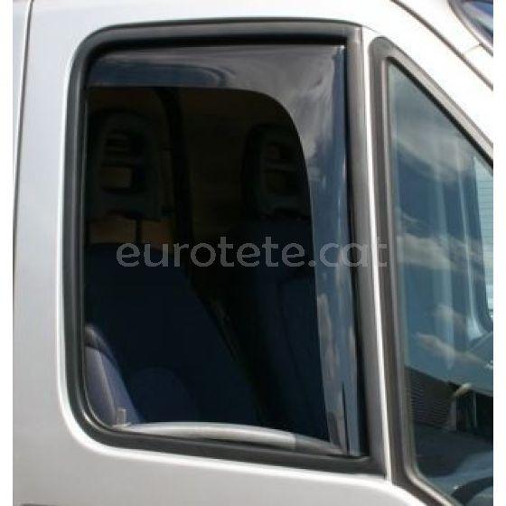 Deflector ventana Fiat Ducato, Peugeot Boxer y Citroen Jumper de la puerta conductor y pasajero de autocaravana 1