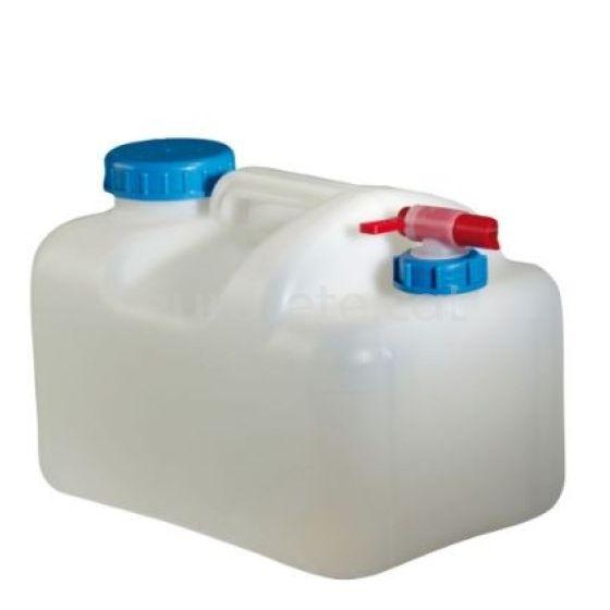 Bidon 15 litros garrafa agua con tapon DIN 96 y tapon DIN 51