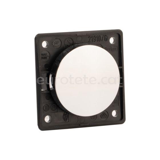 Berker blanc circular 1 polsador electricitat autocaravana 1
