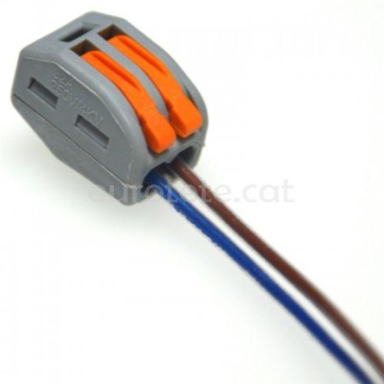 Regleta Wago 2 entroncament cables inclou 1 unitat 1
