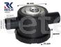 Desguas sifo tap tub aigua de 25 mm autocaravana, caravana o furgoneta camper 1