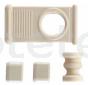 Tirador crema persiana enrotllable Seitz Dometic autocaravana 1